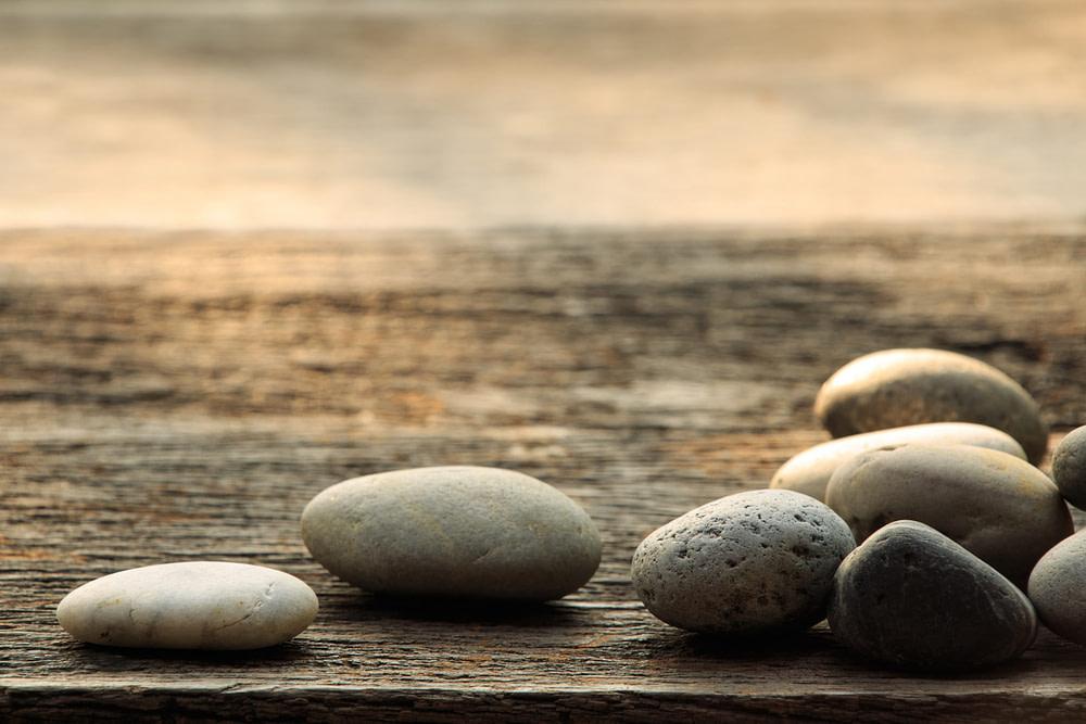 piedras con fondo mar