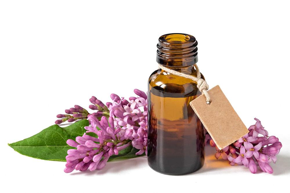 remedio de flores con plantas y etiqueta
